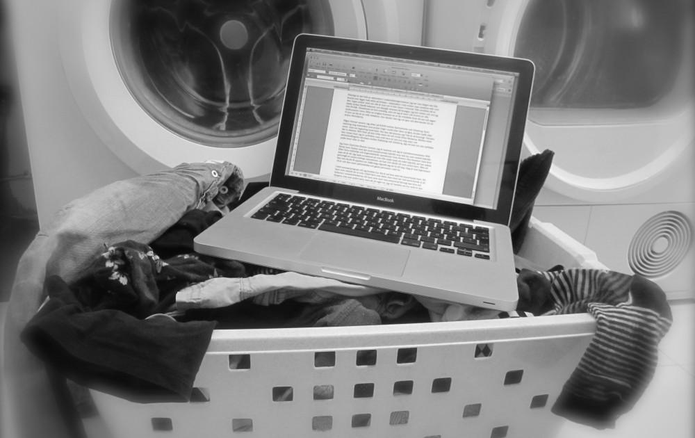 Från tvättmaskinen till tangentbordet